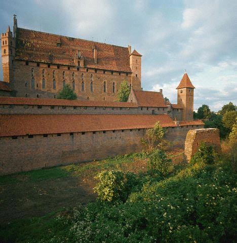 Castle of the Teutonic Knights in Malbork