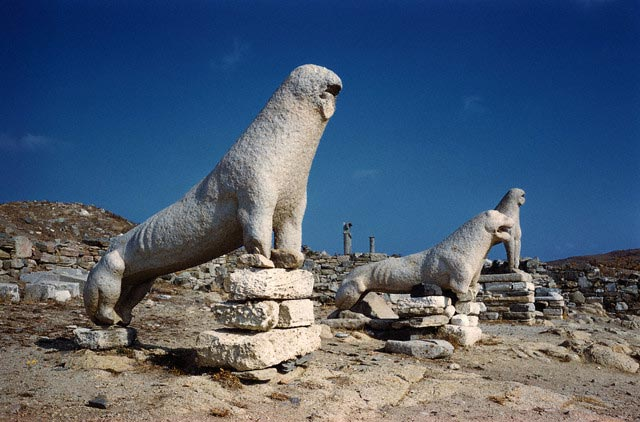 Terrace of the Lions at Delos