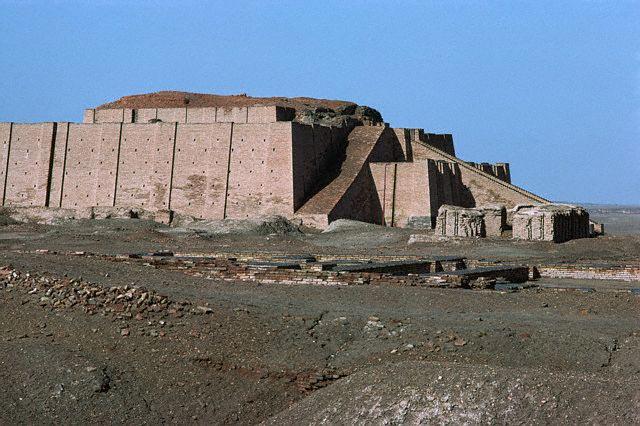 The Ziggurat of Nanna, Iraq