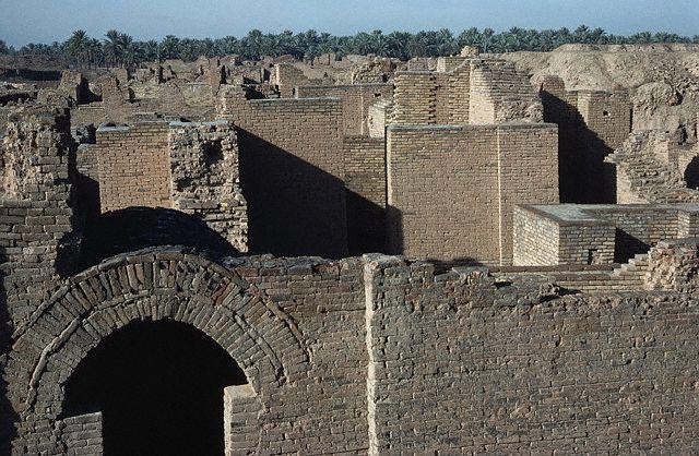 Ancient Babylonian Palace, Iraq