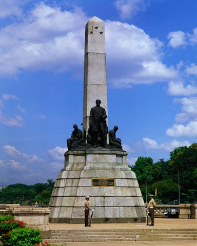 Rizal Monument in Manila