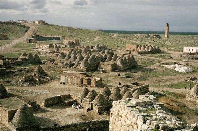 Overview of Village of Beehive-shaped Houses
