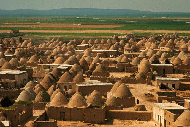 Village of Beehive-shaped Houses