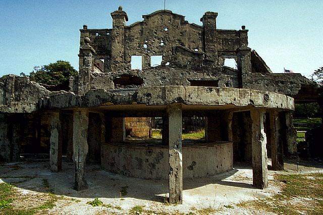 War Ruins of the Cinema at Topside Barracks,