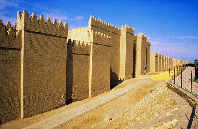 Rebuilt Walls of Nebuchadnezzar Palace