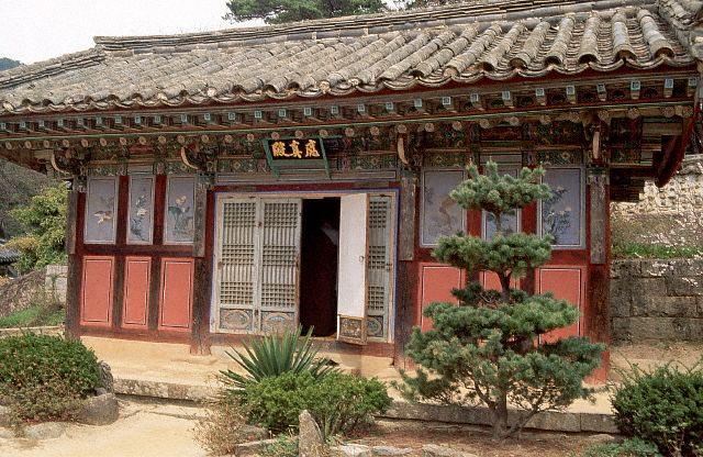 Pavilion at the Haein Temple Complex
