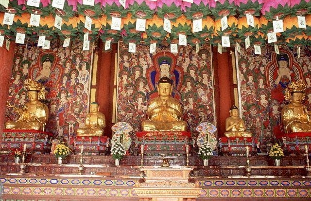 Buddha Shrines, Haein Temple Complex