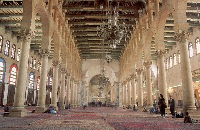 Prayer Hall of the Omayyad Mosque, Damascus