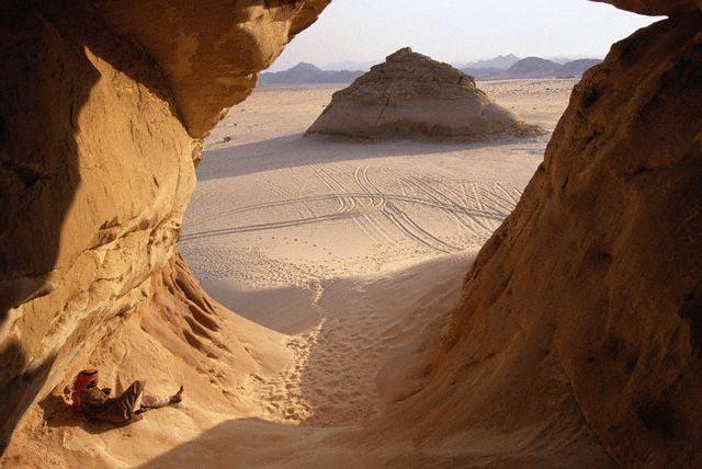 Bedouin Man at El Makhrom Mountain