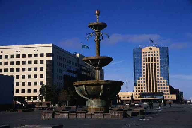 Public Square in Astana