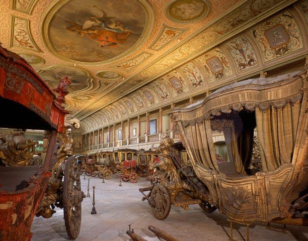 Interior of Carriage Museum