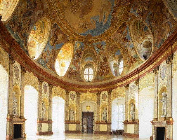 Hall of the Ancestors at Vranov Castle