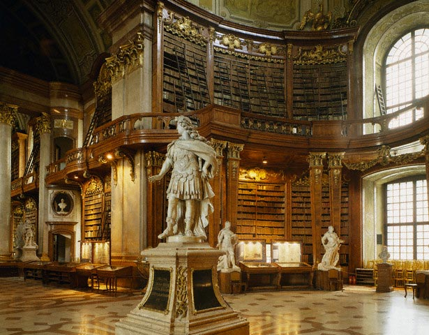 Interior View of the Osterreichische National