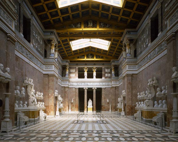 Interior of Walhalla, Regensberg