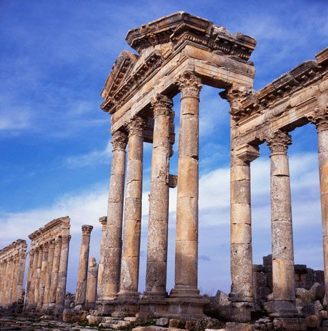 Ruined Temple of Bacchus at Apamea