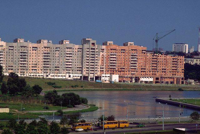 Apartment Buildings in Minsk