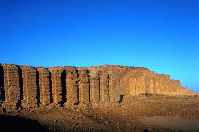 Ruins at Ur of the Chaldees