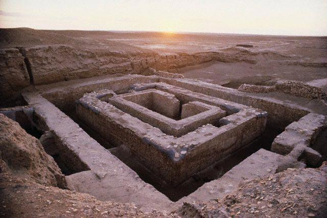 Sumerian Ruins at Uruk