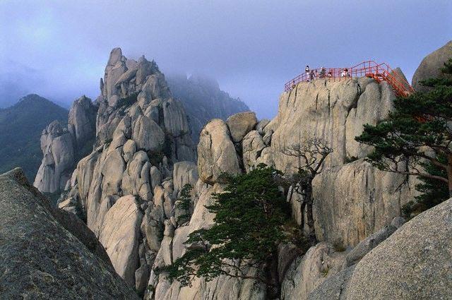 Ulsan Rock in the Sorak Mountains