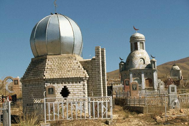 Tombs at a Muslim Cemetery