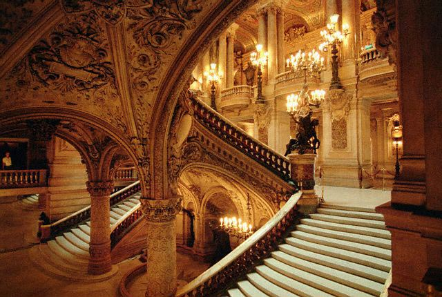Stairways in the Paris Opera