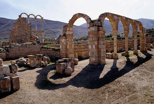Street Arcades and the Ruins of the Main Pala