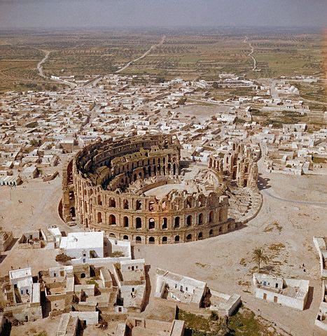 Amphitheater of El-Djem
