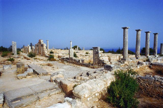 Ruins of a Greek Temple