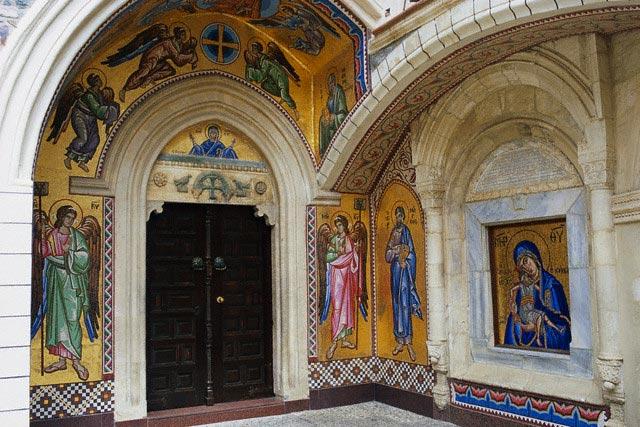 Detail of the Mosaic Cycle at Kykko Monastery