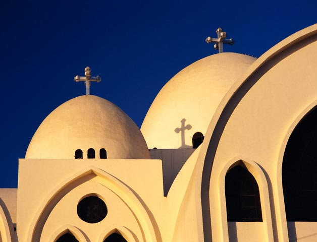 Coptic Cathedral in Aswan