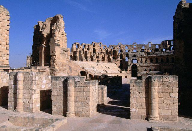Remains of Roman Amphitheatre