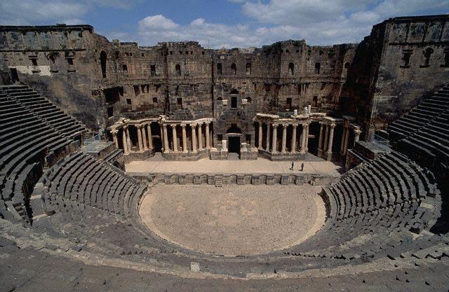 Ruins of Roman Amphitheater