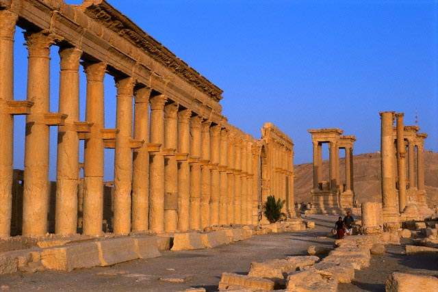 Ruins of the Great Colonnade