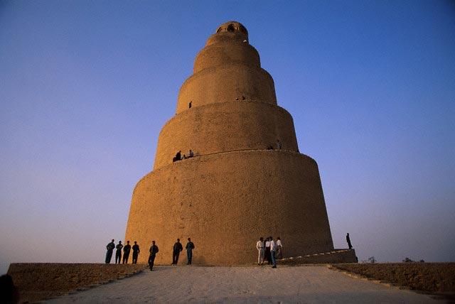 Ancient Spiral Minaret at Samarra