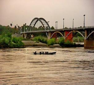 اطلاعات گردشگری پل سفید اهواز