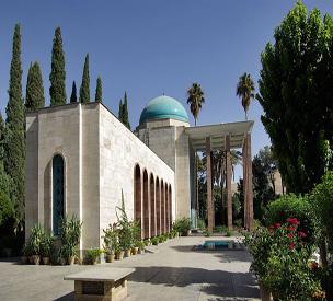 عکس اول آرامگاه سعدی