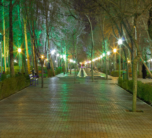 عکس اول بوستان ملت مشهد