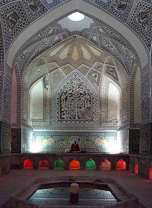 عکس اول حمام خان سنندج