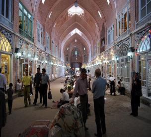 عکس اول بازار تبریز
