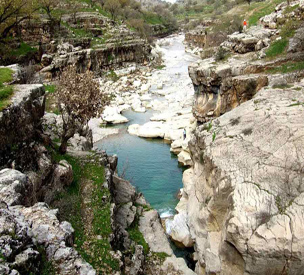 عکس اول چشمه بلقیس چرام