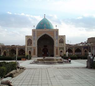 عکس اول مسجد جامع زنجان