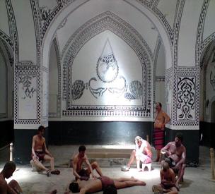 عکس اول حمام خان یزد