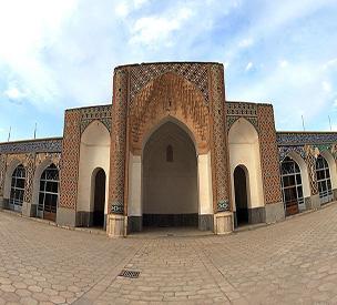 عکس اول مسجد ملک
