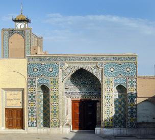 عکس اول مسجد جامع یا مسجد مظفری