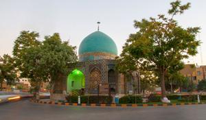 اطلاعات گردشگری گنبد سبز