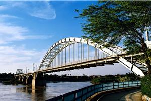 پل سفید اهواز یا پل معلق