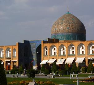 عکس اول مسجد شيخ لطف الله