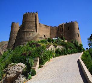 عکس اول قلعه فلک الافلاک