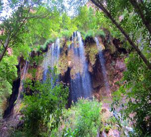 عکس اول آبشار اخلمد