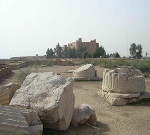 عکس اول کاخ آپادانای شوش